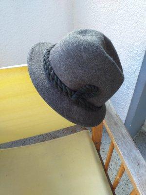 Folkloristische hoed olijfgroen