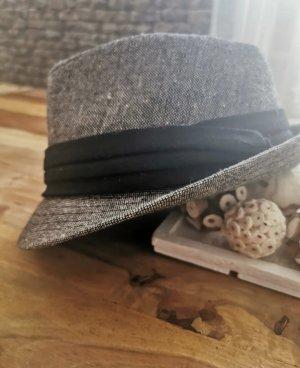 Deichmann Vilten hoed zwart