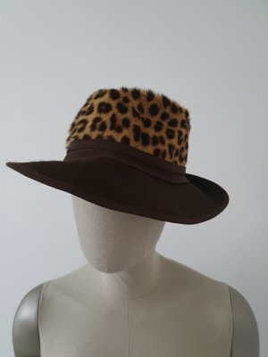 Felt Hat dark brown