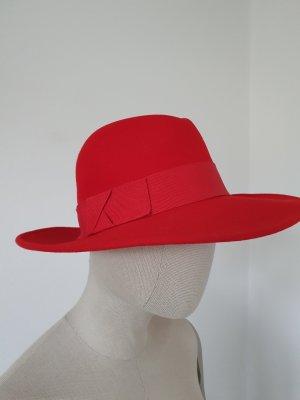 Yessica Wollen hoed baksteenrood