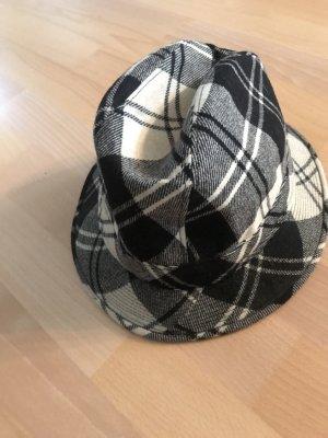 United Colors of Benetton Wollen hoed zwart-wit
