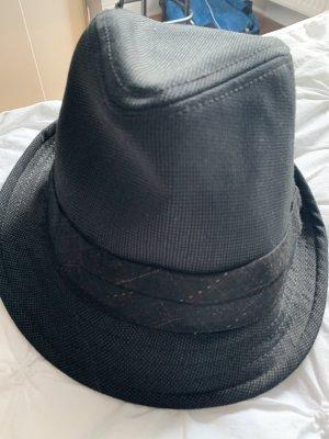 Goorin Bros Wełniany kapelusz czarny-antracyt