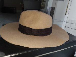 H&M Wollen hoed lichtbruin-bruin