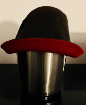malo Woolen Hat red-light brown cashmere
