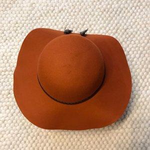 Vero Moda Chapeau en feutre rouille