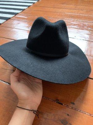 Zara Vilten hoed zwart