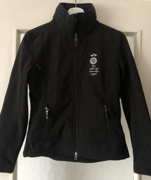 HV Polo Softshell Jacket black-silver-colored