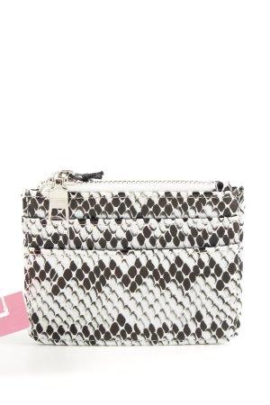 HVISK Porte-cartes blanc-noir motif abstrait style d'affaires