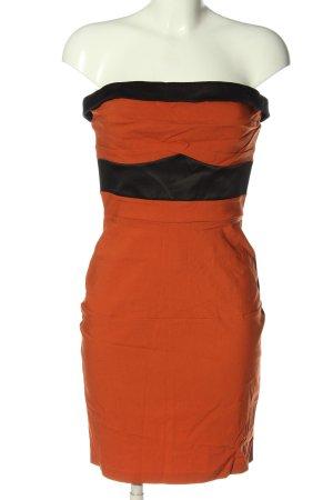 Hybrid Mini Abito arancione chiaro-nero stile casual