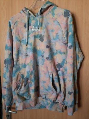 Hype Maglione con cappuccio multicolore Tessuto misto