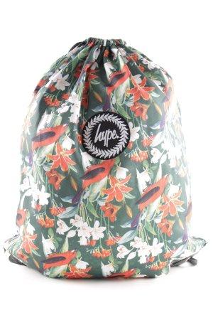 Hype Sporttasche Blumenmuster sportlicher Stil