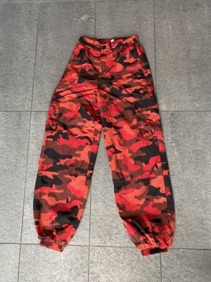 i.am.gia Cargo Pants red-black