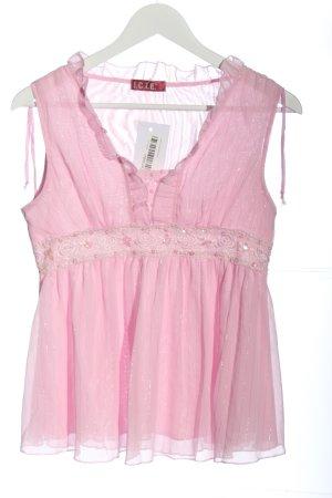 i.c.i.e. ärmellose Bluse pink Business-Look