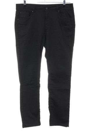 Pantalon taille basse noir style décontracté