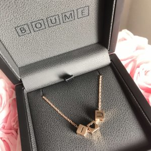 Gold Chain rose-gold-coloured-black