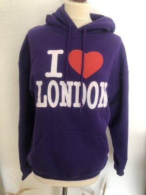 Gildan Hooded Sweater dark violet-lilac