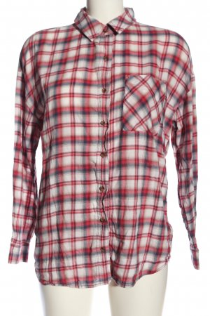 I Love H81 Holzfällerhemd Allover-Druck Casual-Look