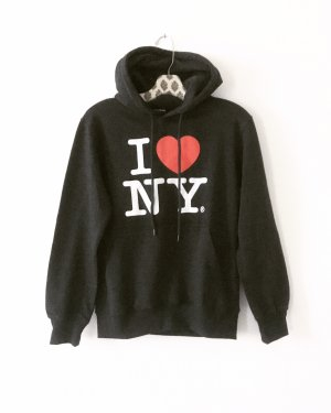 I love NY hoodie • original • sweater • vintage • casual • schwarz