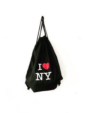 I love NY rucksack • schwarz • casual
