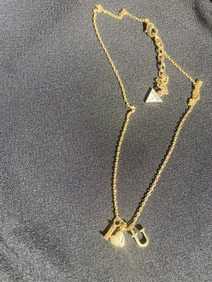 Guess Necklace gold orange