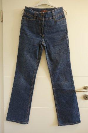 Bering Jeans elasticizzati blu acciaio-blu scuro Cotone