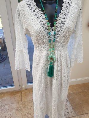 Ibiza Boho Spitze Kleid One Size bodenlang