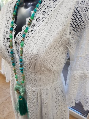 Ibiza Boho Spitze Kleid One Size knielang