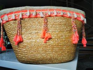 Ibiza Korbtasche / City Shopper und Strandtasche