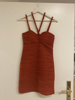 IBIZA Partykleid rot sexy figurbetont Sommerkleid Xs