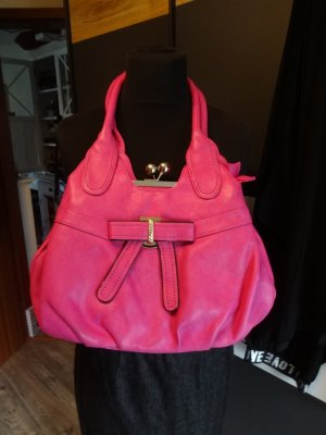 Ibiza Rock a Bella pink Handtasche 50 s Rock n Roll XL Zauberfächer