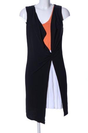 iBlues Jerseykleid mehrfarbig Business-Look