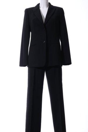 iBlues Kostium czarny W stylu biznesowym