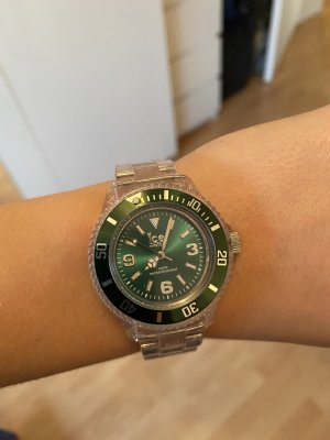 Ice watch Montre analogue blanc-vert