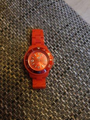 Ice watch Orologio con cinturino di metallo rosso