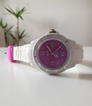 Ice watch Reloj analógico blanco-violeta
