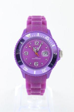 Ice watch Analoguhr lila Casual-Look