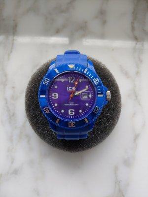 Ice watch Montre automatique bleu foncé-violet foncé