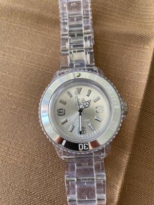 Analoog horloge wit