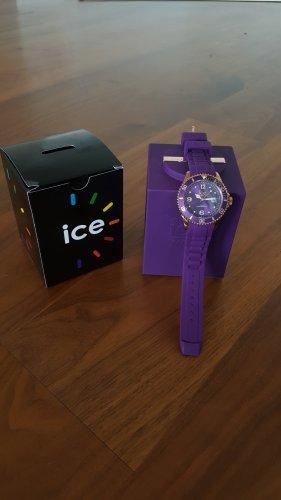 Ice Watch - ICE style Purple - Lila Damenuhr mit Silikonarmband - NEU original verpackt