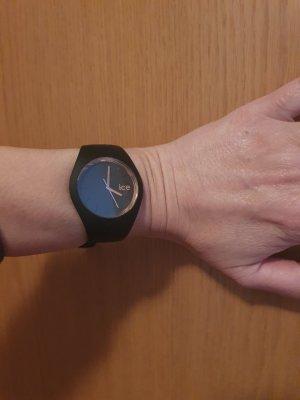 Ice watch Reloj analógico negro-color rosa dorado
