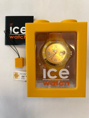 Ice watch Montre analogue jaune