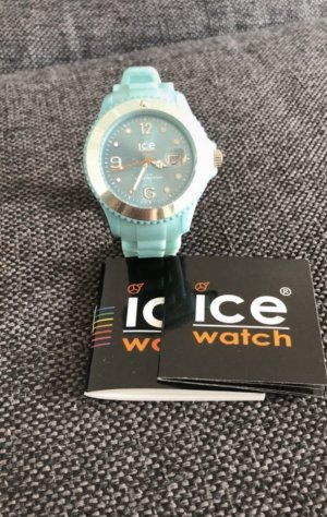 Ice watch Montre analogue bleu clair
