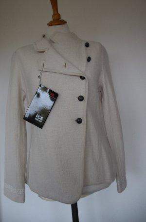 Ice Wear - gefilzte Woll Jacke mit Stickerei - neu