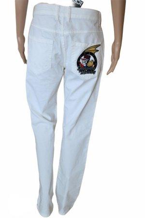Iceberg Pantalone jersey bianco Cotone