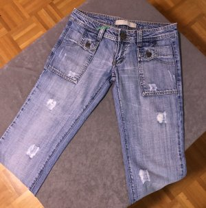 Iceberg Low Rise Jeans light blue