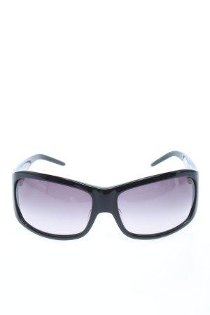 Iceberg Angular Shaped Sunglasses black casual look