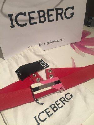 Iceberg Tailleriem rood-roze