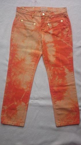 Iceberg Jeans a 7/8 arancione Cotone