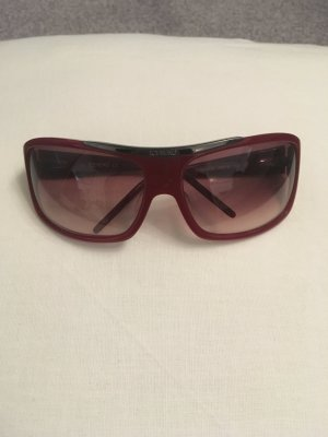 Iceberg Sunglasses dark red-silver-colored synthetic material