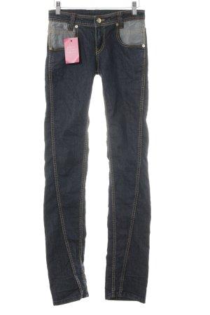 Iceberg Straight-Leg Jeans dunkelblau Casual-Look